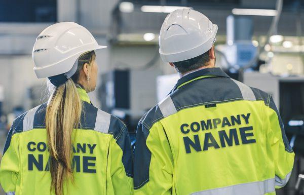 Arbeitsbekleidung mit Ihrem Logo