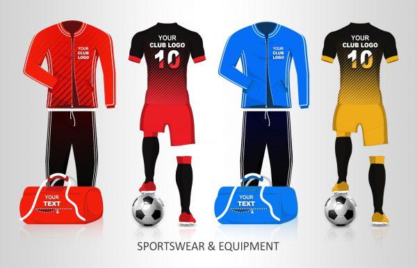 Vereinsbedarf Bekleidung und Teamsportausrüstung