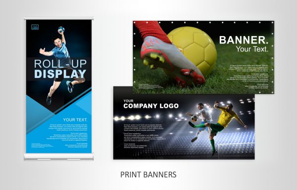 Werbung Flyer und Kataloge