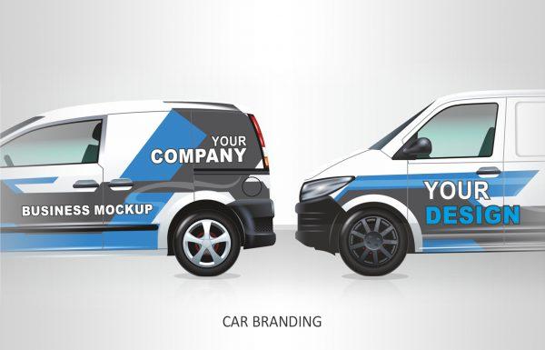 Werbung Fahrzeugbeschriftung
